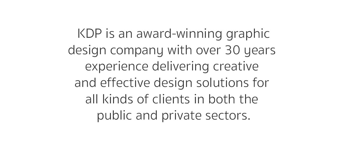 KDPHQ Graphic Design Leicestershire