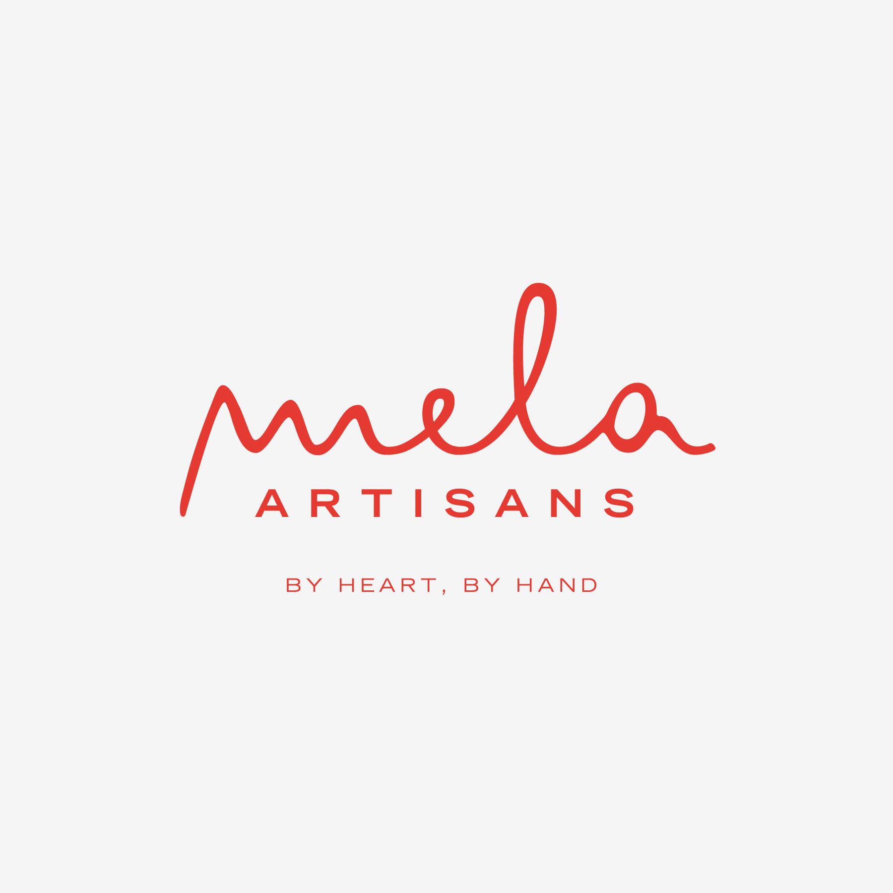 Mela Artisans - This logo/tagline was the first step in a full rebranding for this India based home furnishings and jewelry company. For the company's buyers at various retail levels, colors and logo style variations were implemented into packaging and signage.