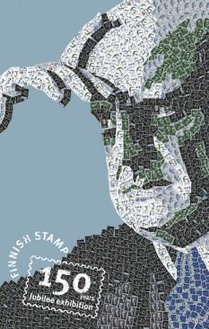 Sibelius Finnish Stamp