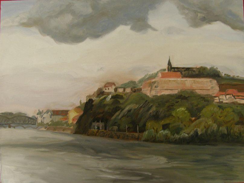Painting of Vyšehrad