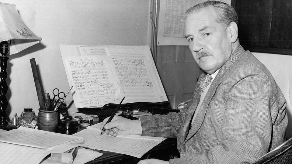 Gordon Jacob composing