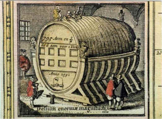 The tun of Heidelberg