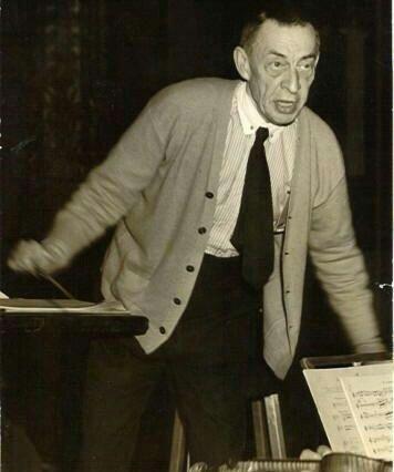 Rachmaninoff conducting