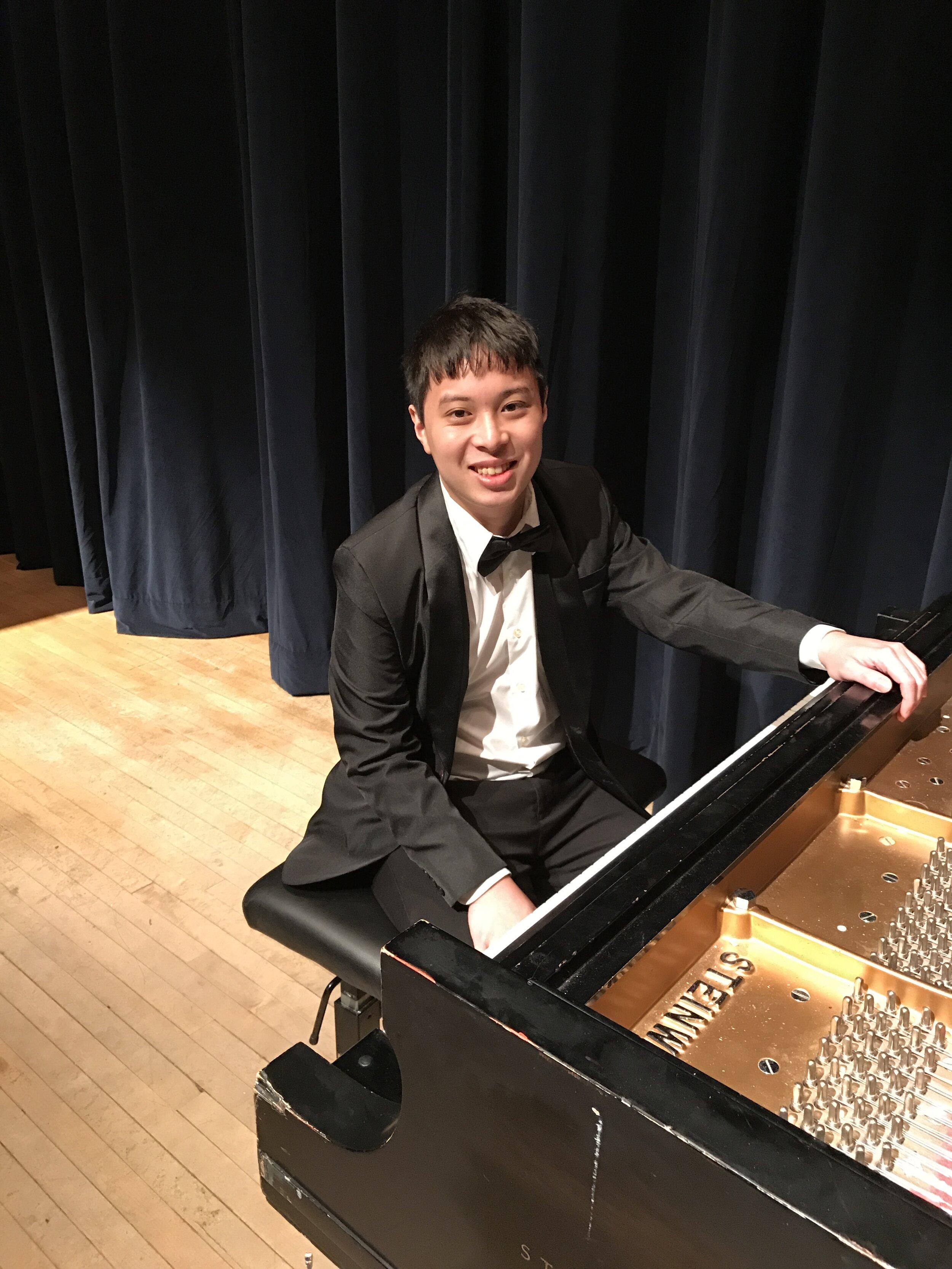 Nicholas Ho, piano