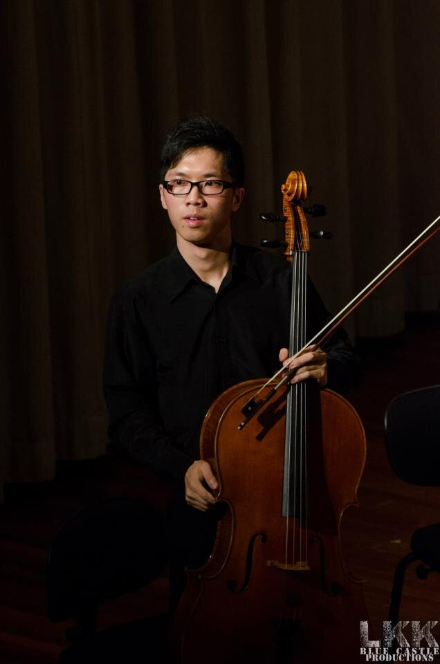 "Cheuk-Yan ""Vincent"" Leung, cello"