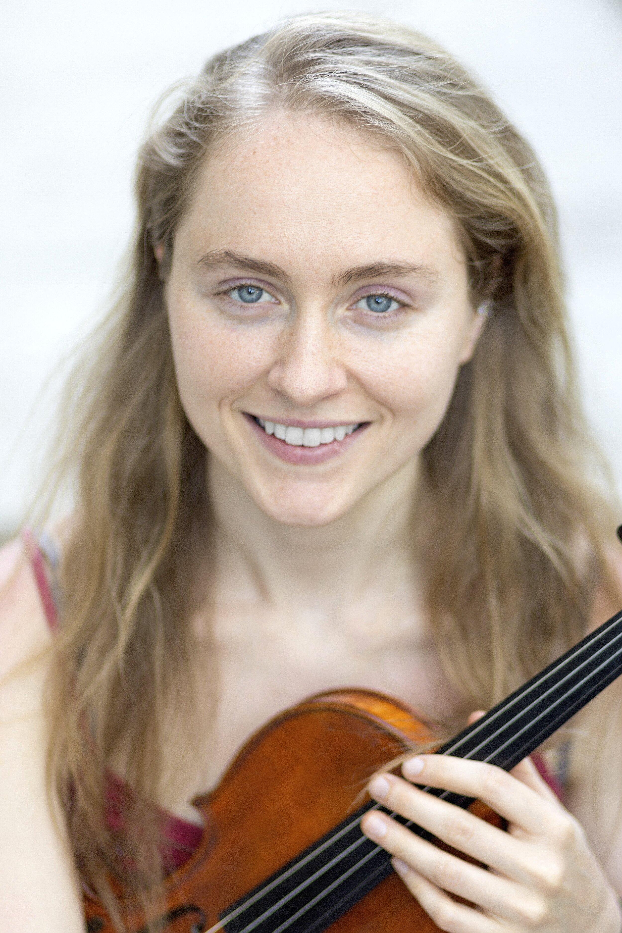 Lara Madden, violin