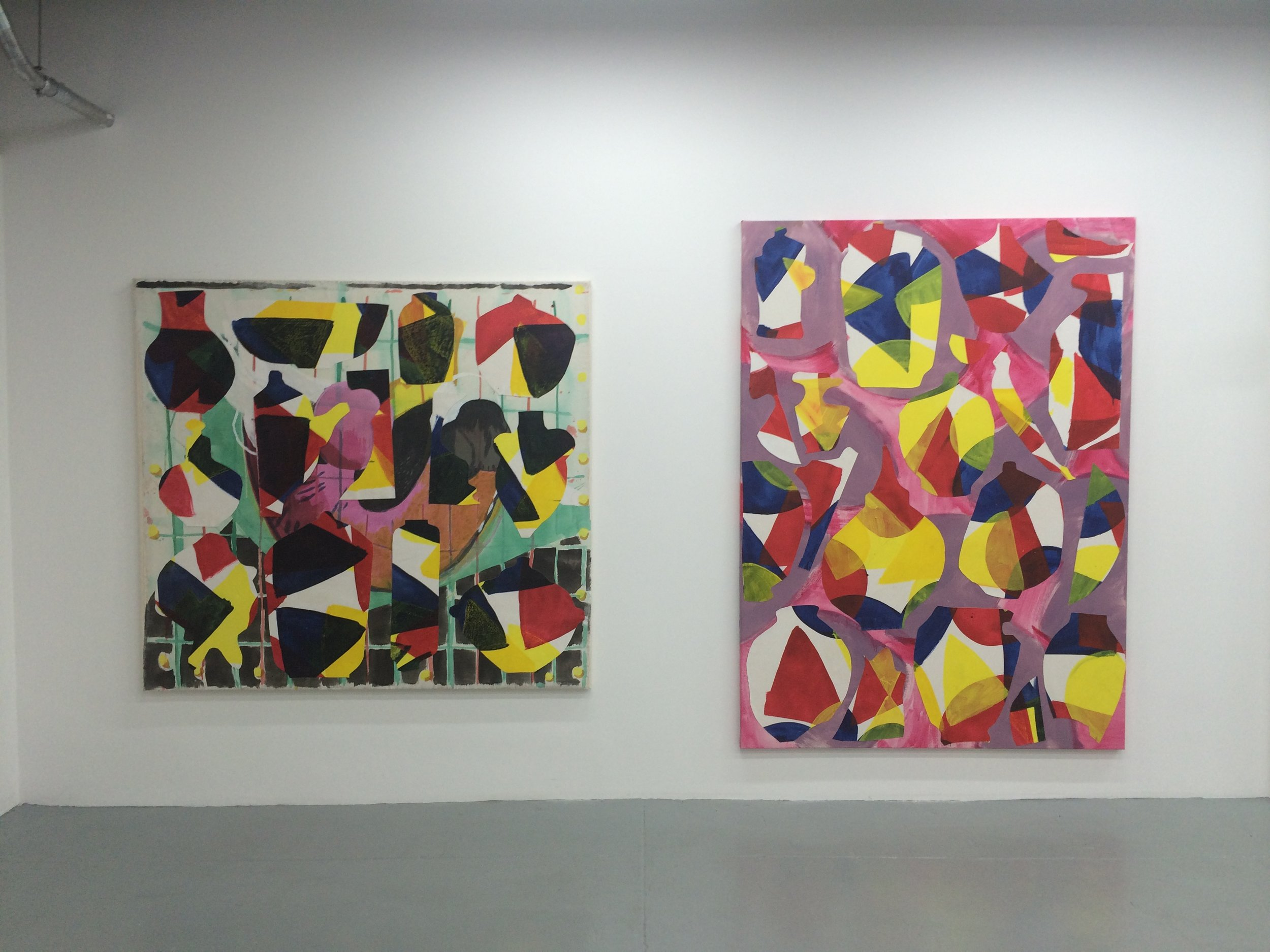 Installation View, To Put on the Edge, A Table, Albertz Benda Gallery, NYC