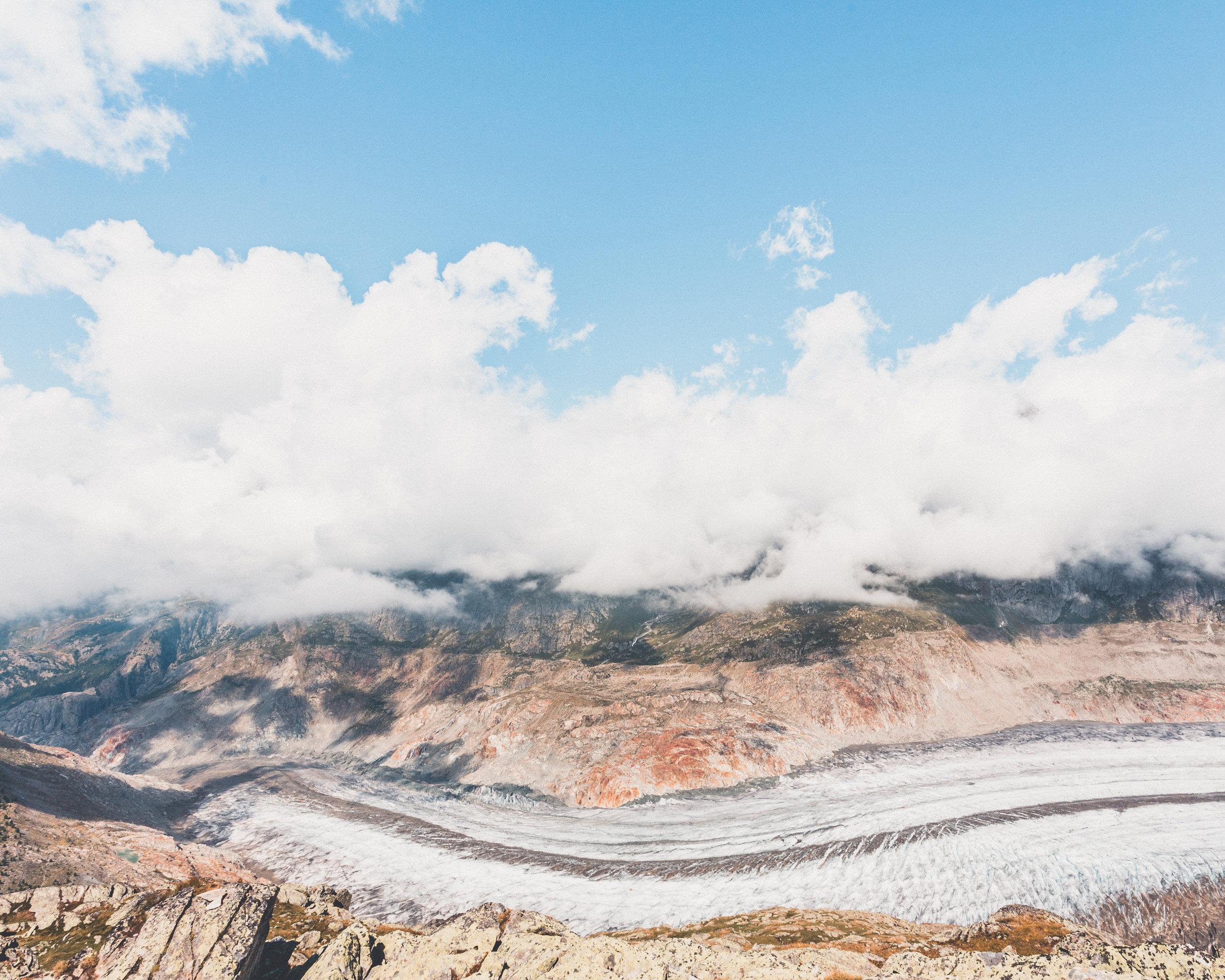 Daan Annemans Hippo Magazine Cloudy Mountains