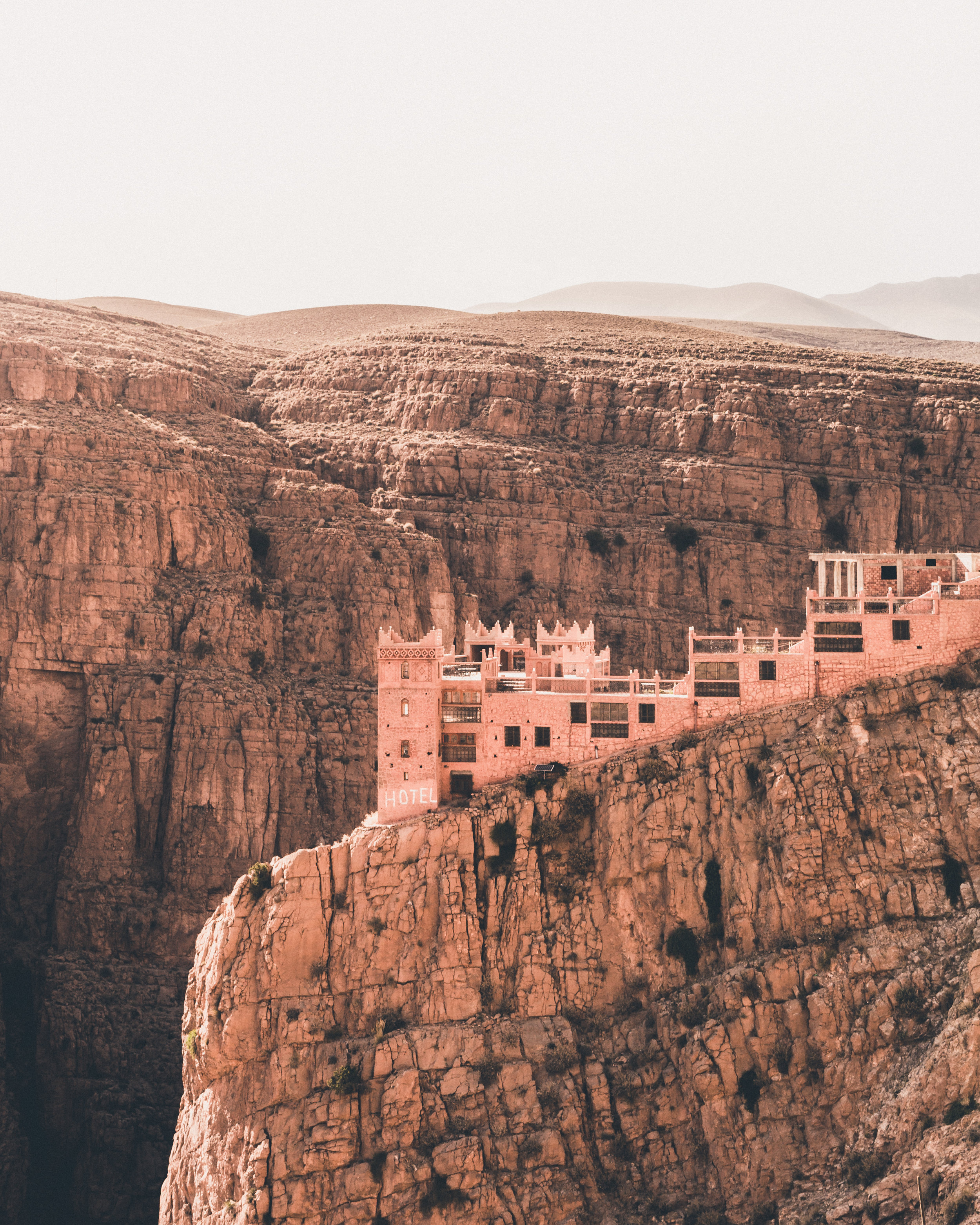 Daan Annemans Hippo Magazine Desert Canyon Landscape