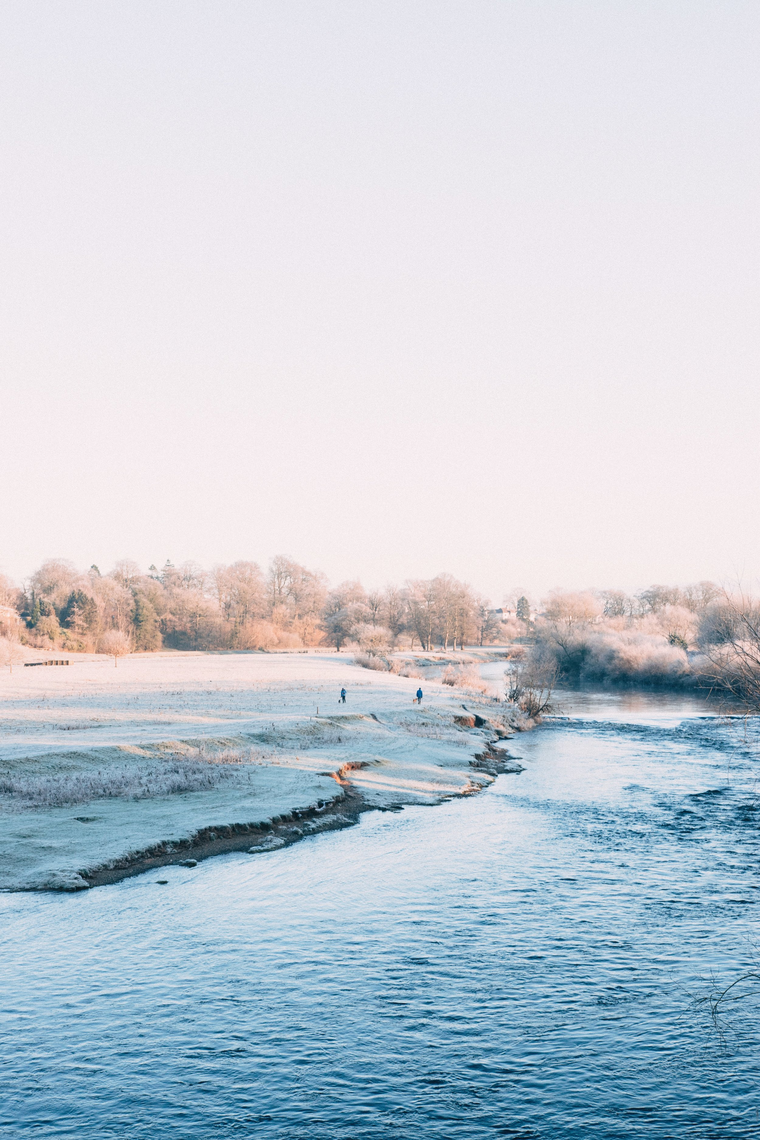 Harry Renton Hippo Magazine River in the winter