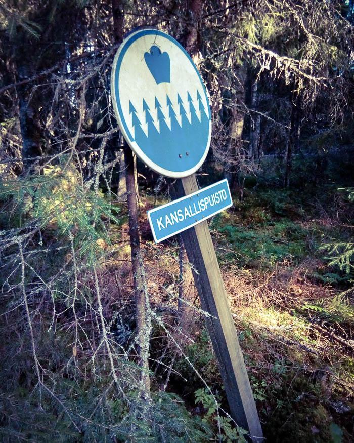 Seitsemisen kansallispuisto.
