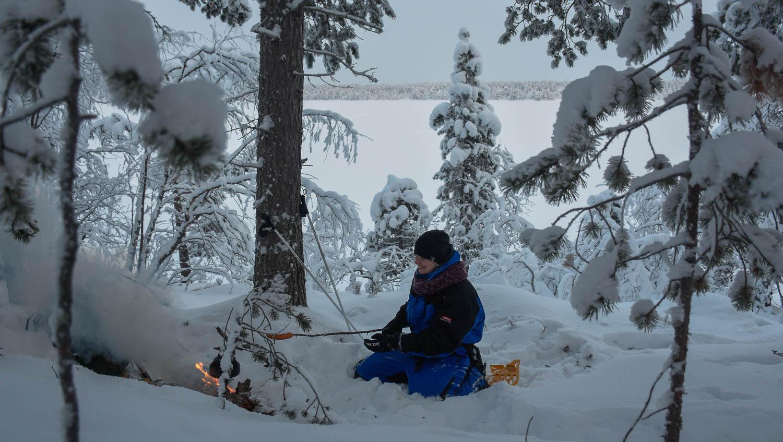 Makkaranuotion saa toki aikaan kylmemmälläkin kelillä.