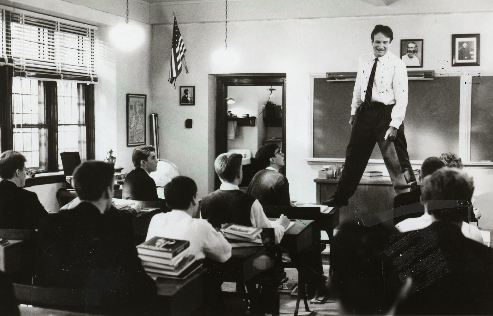 Dead Poet's Society  (1989, Peter Weir)