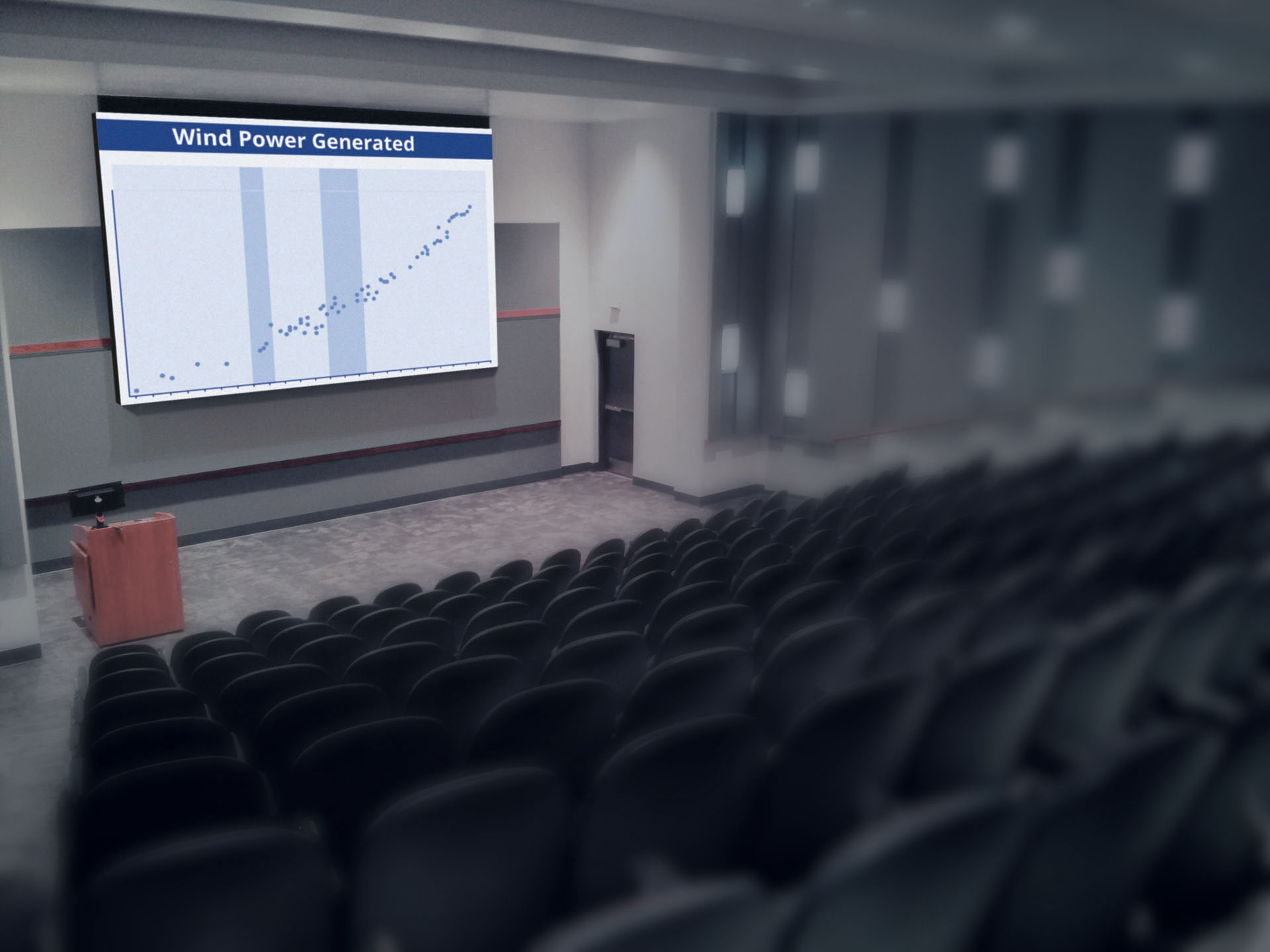 Educational facilities are a great fit for ImageCell indoor LED screens. LED will out-perform expensive projection systems in almost any environment.