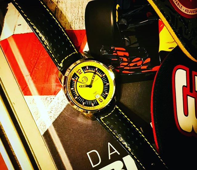 Getting ready for race weekend again. . . . #gripauto #itstimetogetagrip #werk1carsandcoffee #highballcarsandcoffee #drivetheworld #highballmotorclub #danielricciardo #britishgp #seenthroughglass #watch #watchoftheday #watchuseek #ferrari #motoringwatches #porsche #getoutanddrive #melbourne #wristporn #drivetastefully #timepiece #driverswatch #carsandwatches #carsandcoffee #caffineandoctane #wotd #dailywatchfix #watchlife #watchfun #microbrand #microbrandwatch