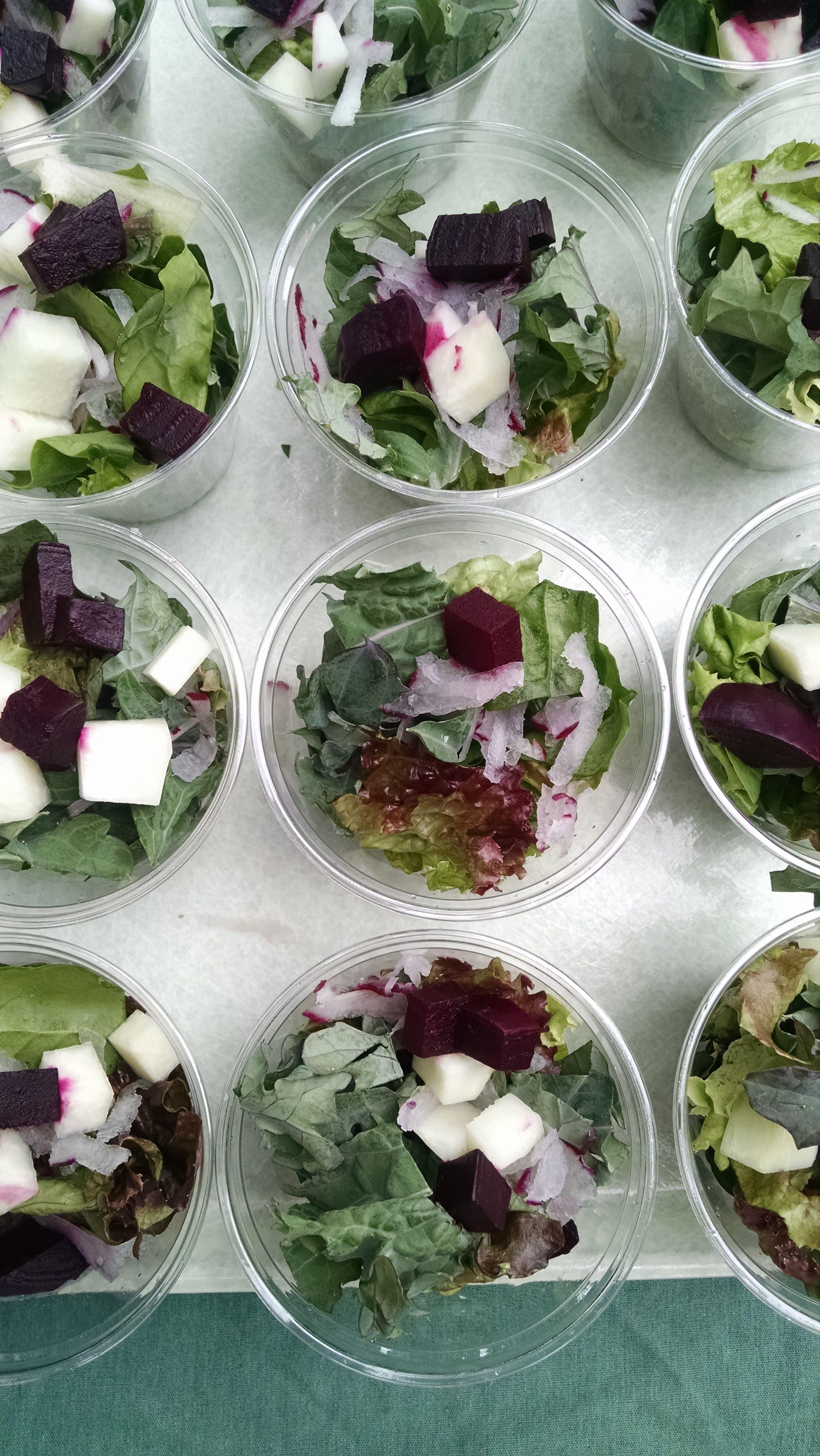 Salad samples