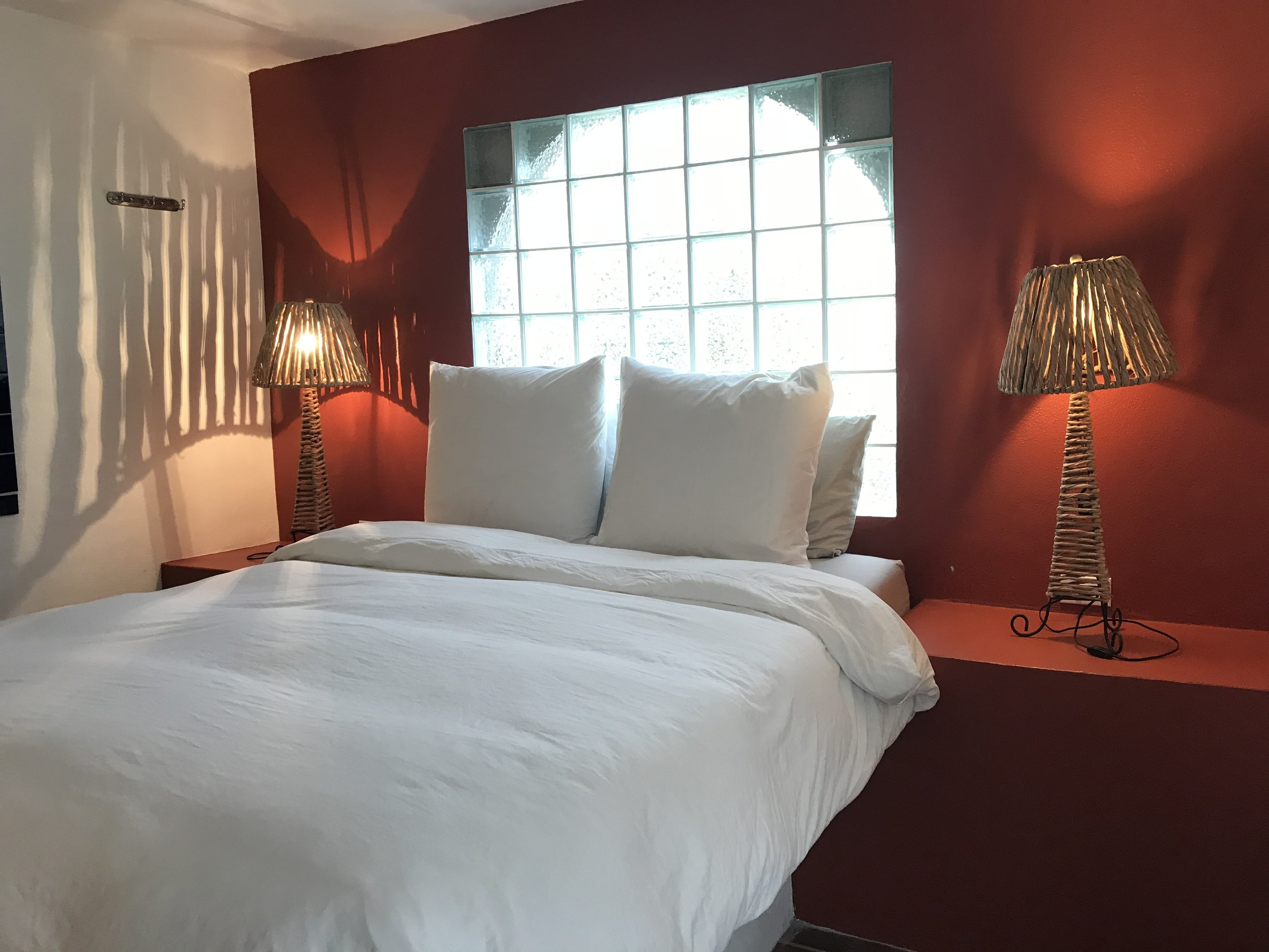 Queen Bed for Two  Features: Private Bath,Modern Suite, Queen Size Bed