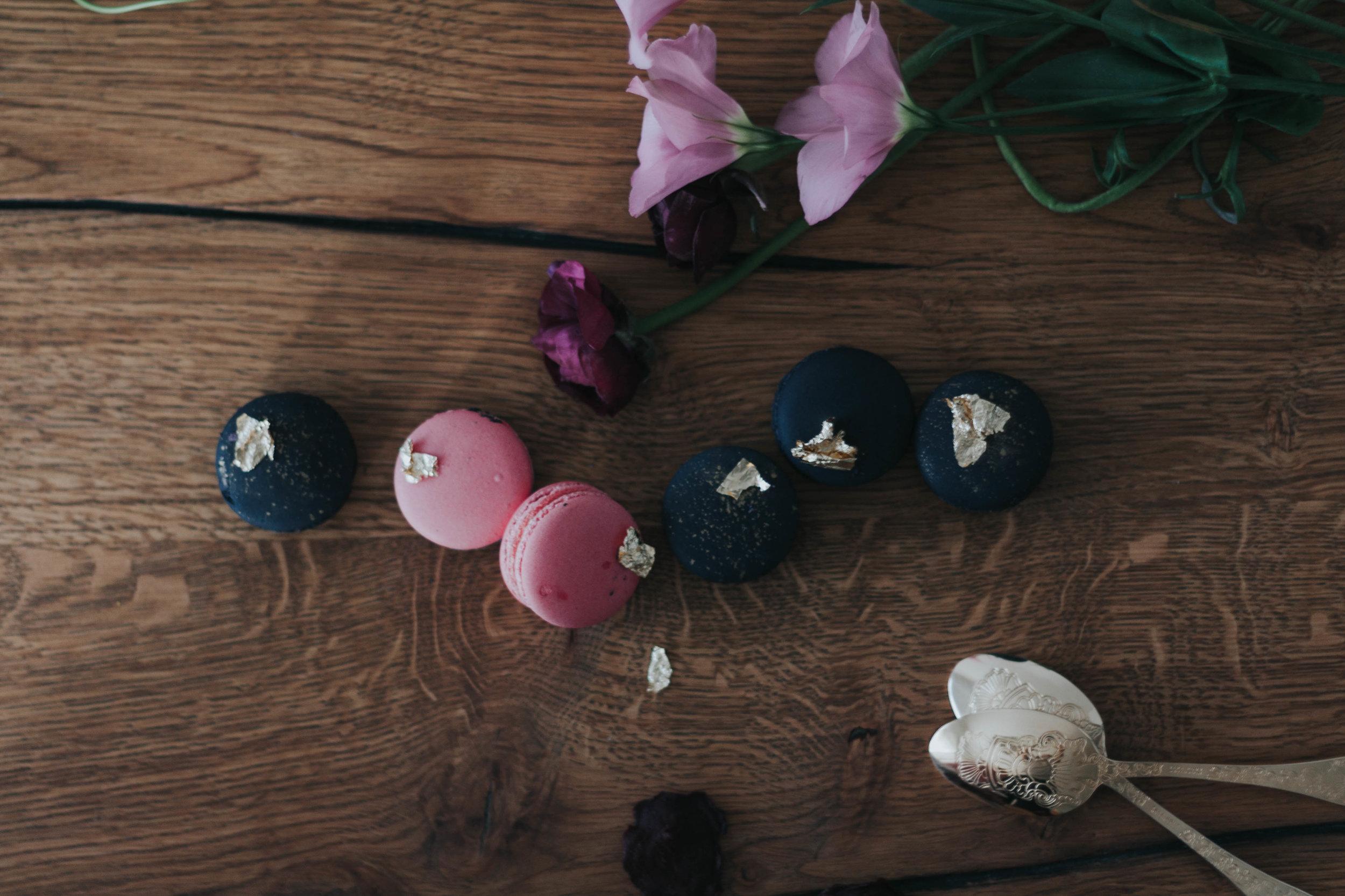 Macaron diverse Farben