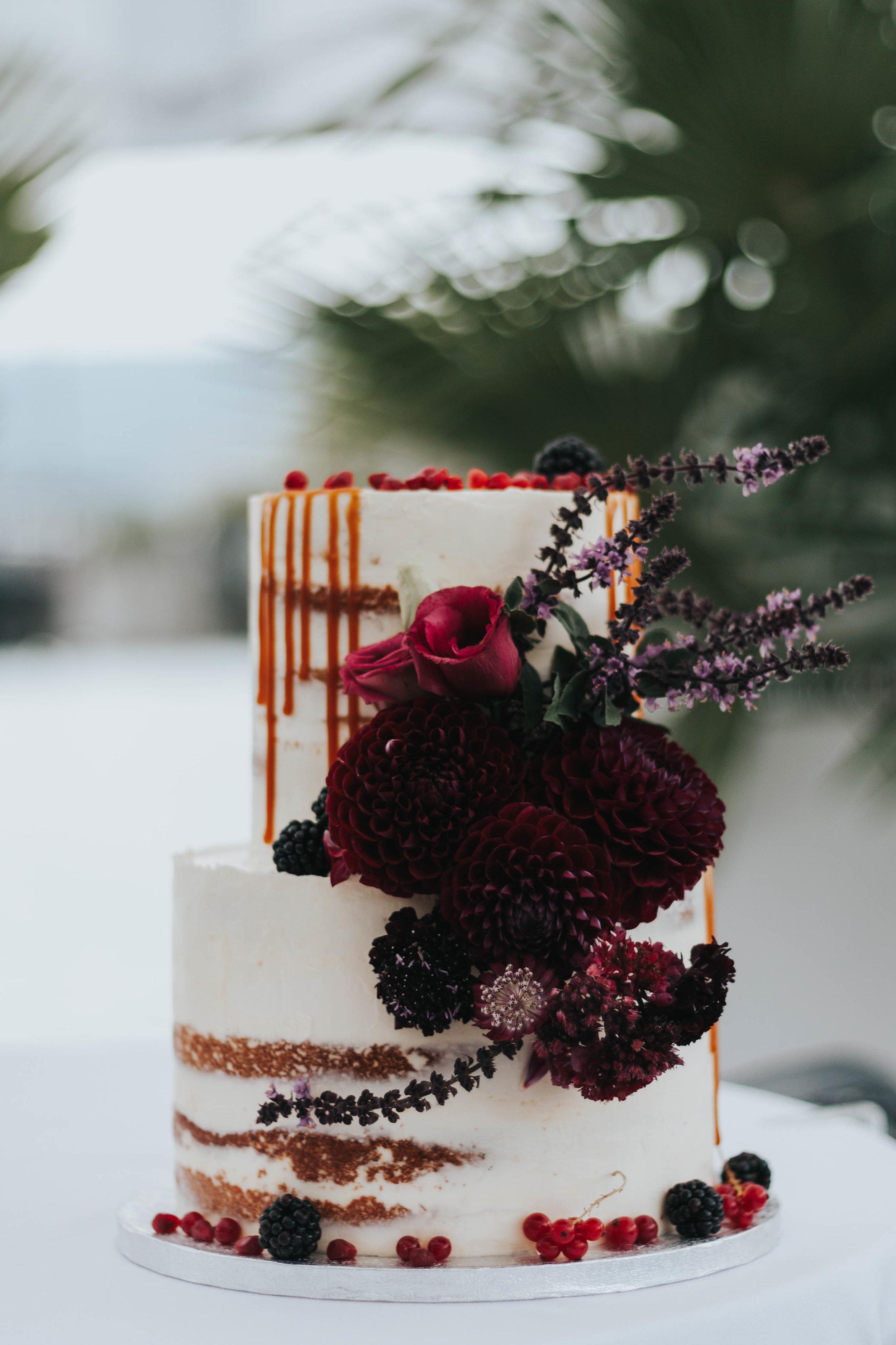Hochzeitstorte Berry