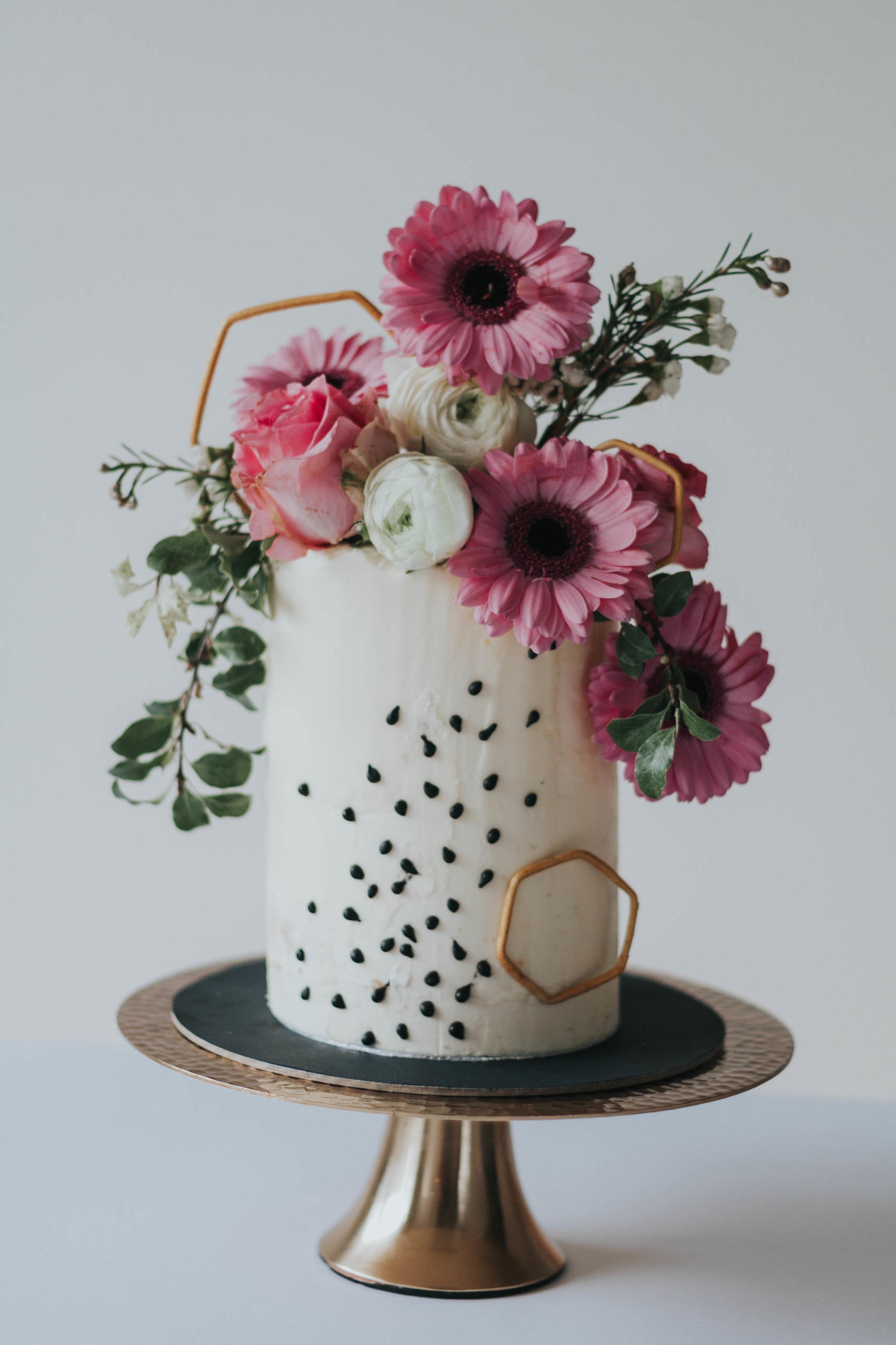 Torte Pink Flower