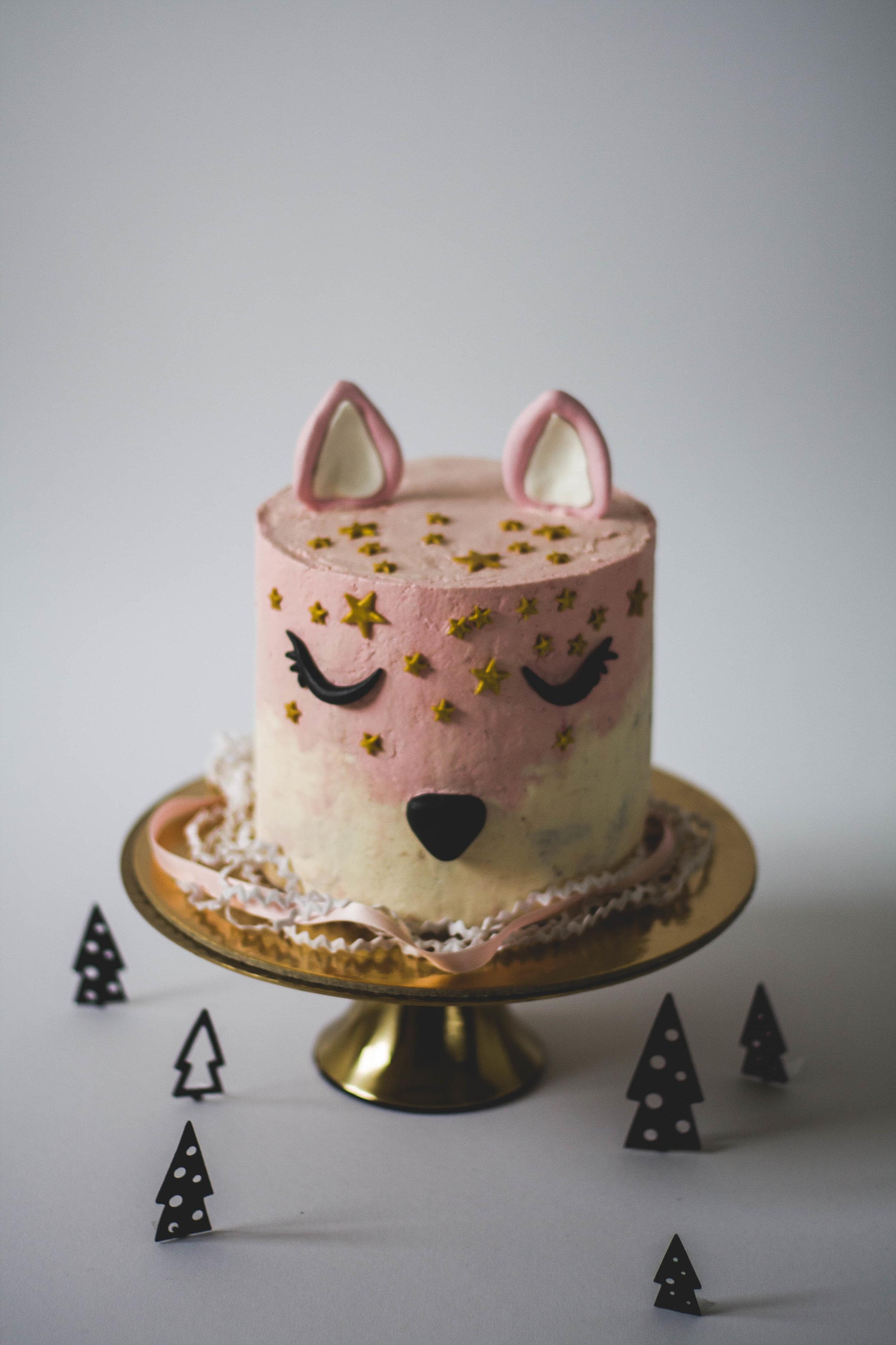Geburtstagstorte Cat