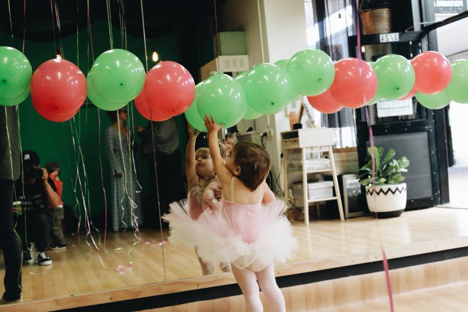 host your next kids birthday party with us - At The Green Room we host beautiful and super fun kids birthday parties in our amazing studio space.