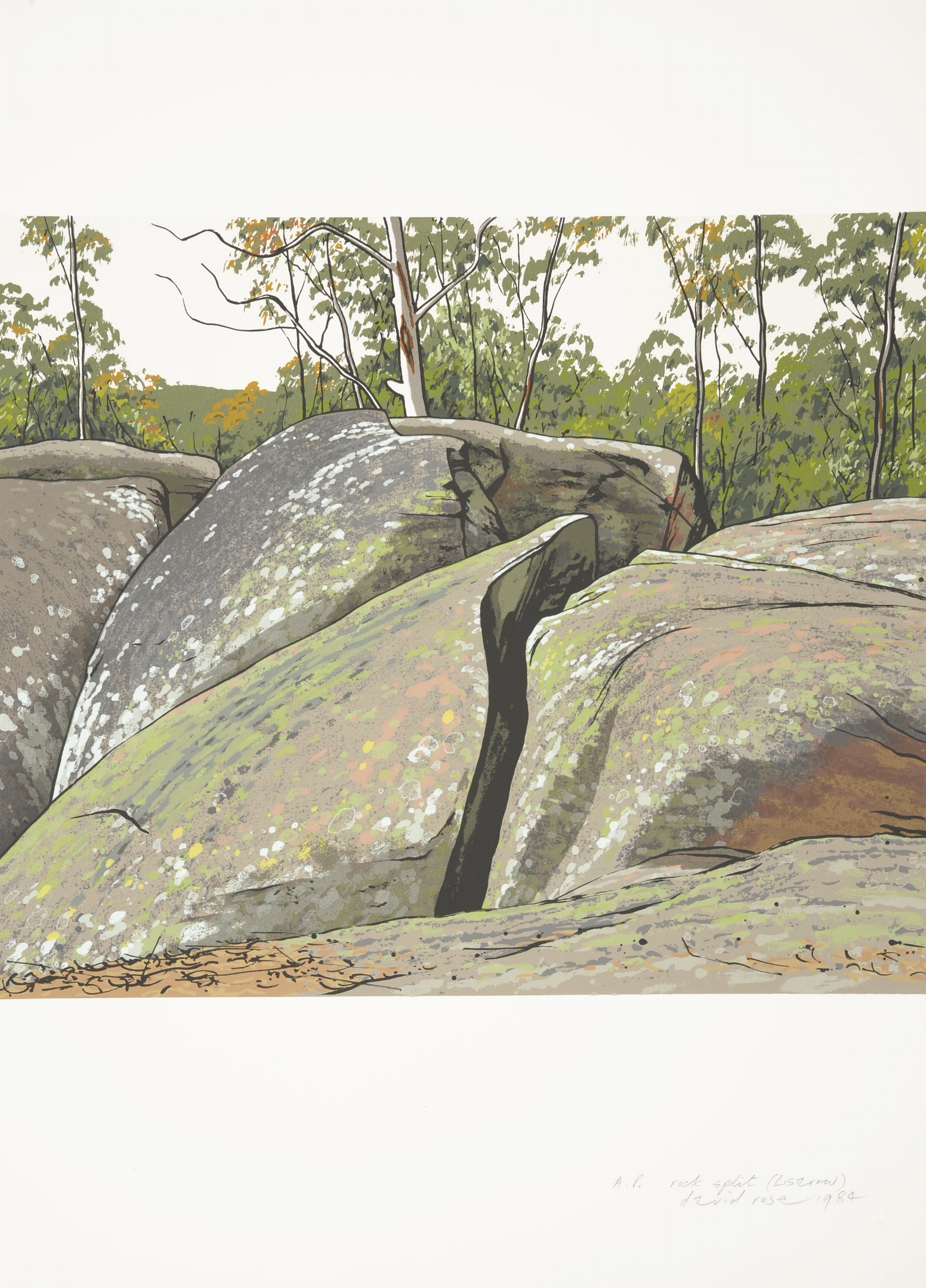 Rock split, Lisarow , 1984