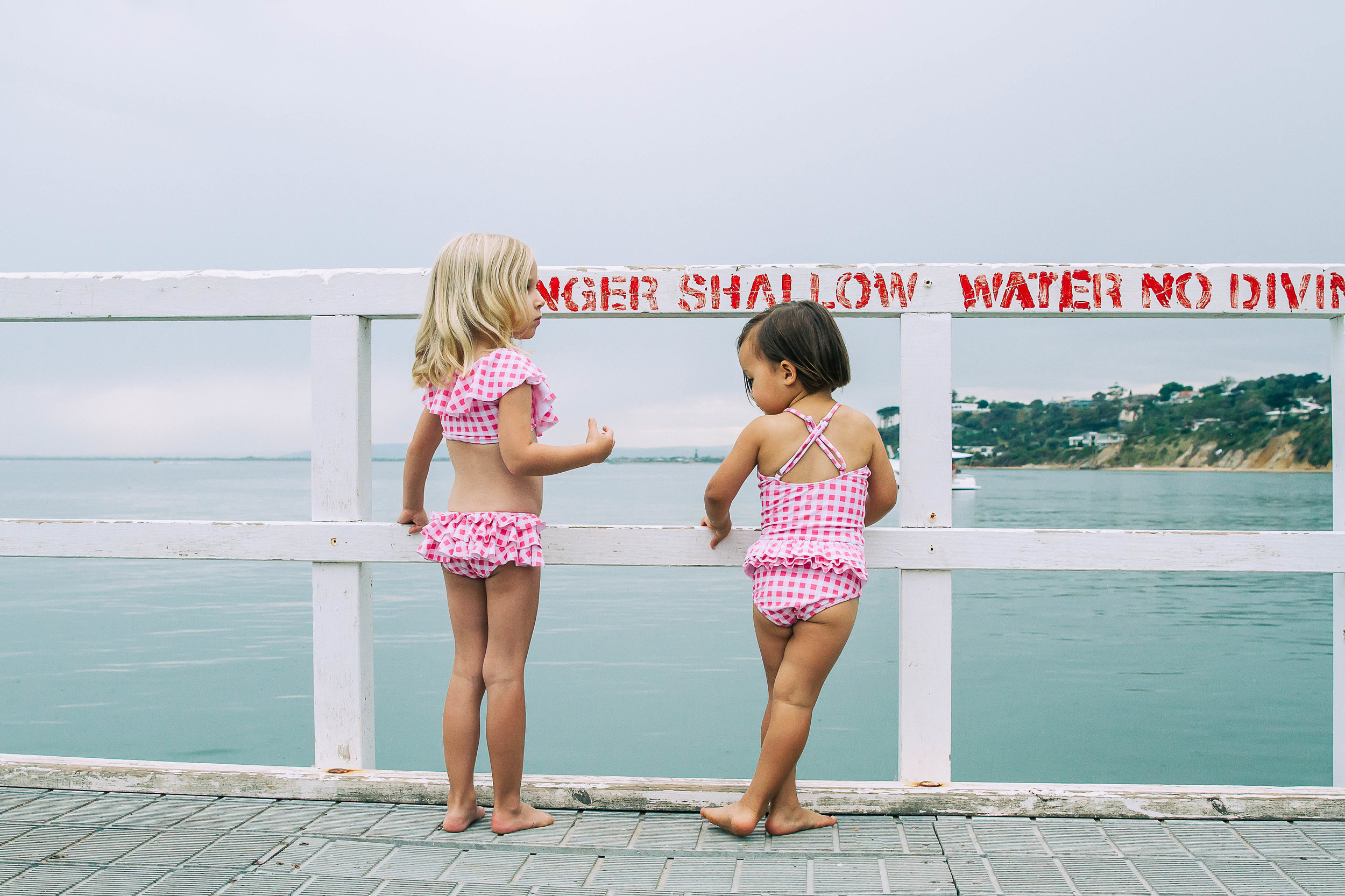 Gingham Swimsuits by Peggy