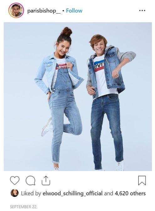 Image via Instagram for Levis.