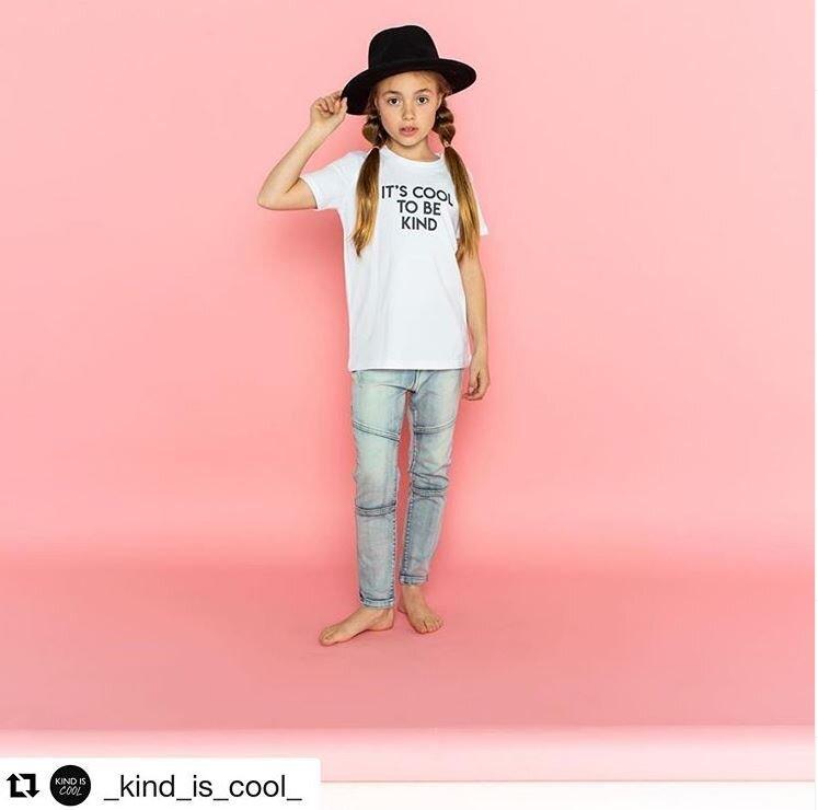 Image via Instagram modeilling for Kind is cool.