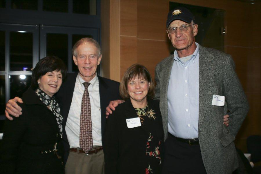 Bill and Barbara Alexander ... Ed and Janet Donahue