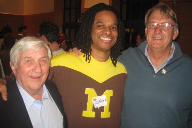Denny Fitzpatrick, Roy Fisher and Dick Kuchen