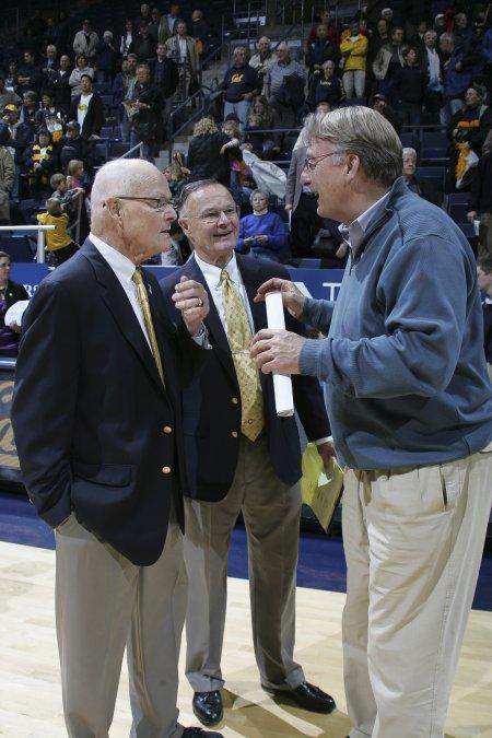 Coaches Rupe and John Ricksen(1951-1953) (GOLD) Team  Coach Dick Kuchen (BLUE) Team