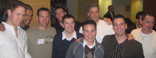 Shahar Gordon, Solomon Hughes, Conor Famulener, Christian Prelle, Derrick Wrobel, Cassidy Raher, Jon Wheeler, Randy Duck, and Mike Taylor