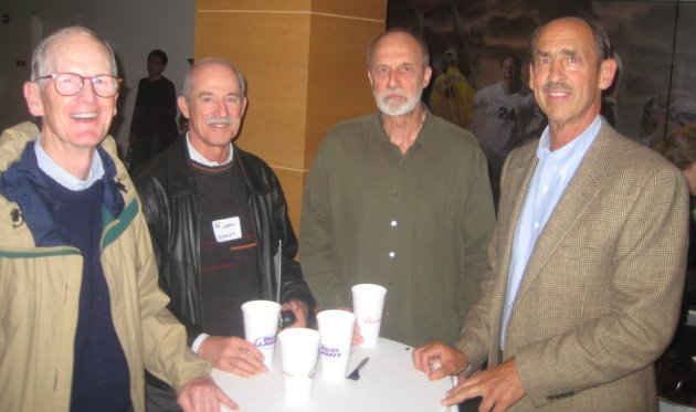 Tom Thomas, Jerry Mosher, Dan Wolthers, and Dick Vortmann