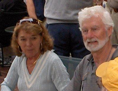 Sandy Barbour and Chris Carpenter