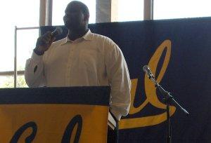 Tarik Glenn, Keynote Speaker  Cal graduate, 3-time Pro Bowler, and member of Superbowl Championship Team (Indianapolis Colts)