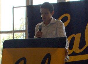David Torrence, Men's Cross Country, Student Athlete speaker