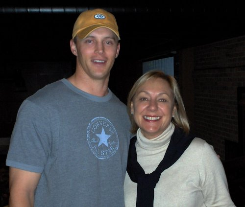 Chase Lyman (football) and Betsy Bowden