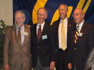 Maynard Orme, Jerry Siebert, Don Bowden, and Jack Yerman [World Record 2-Mile Relay Team]