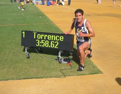 Torrence's New Record