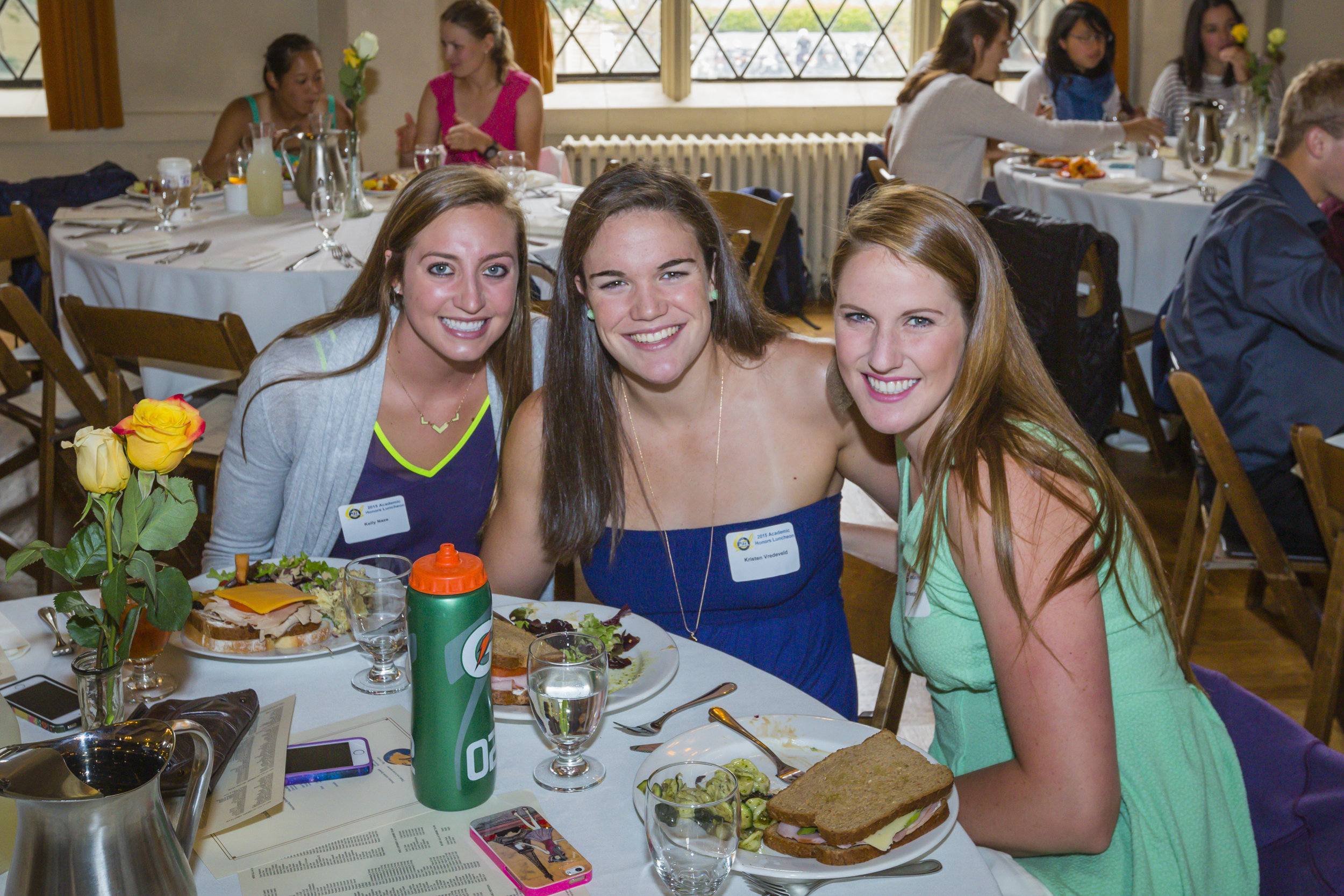 15 Honors Lunch - Kelly Naze-Kristen Vredeveld-Missy Franklin NP.jpg
