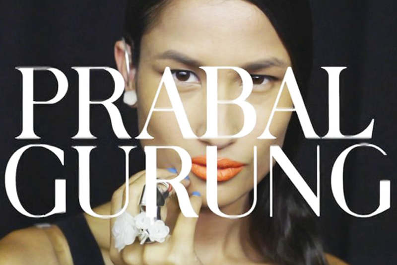 Prabal Gurung - Backstage portfolio