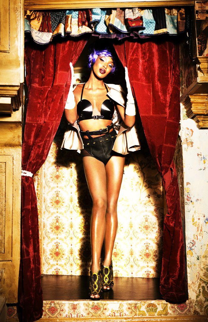Naomi Campbell - Schön! Magazine