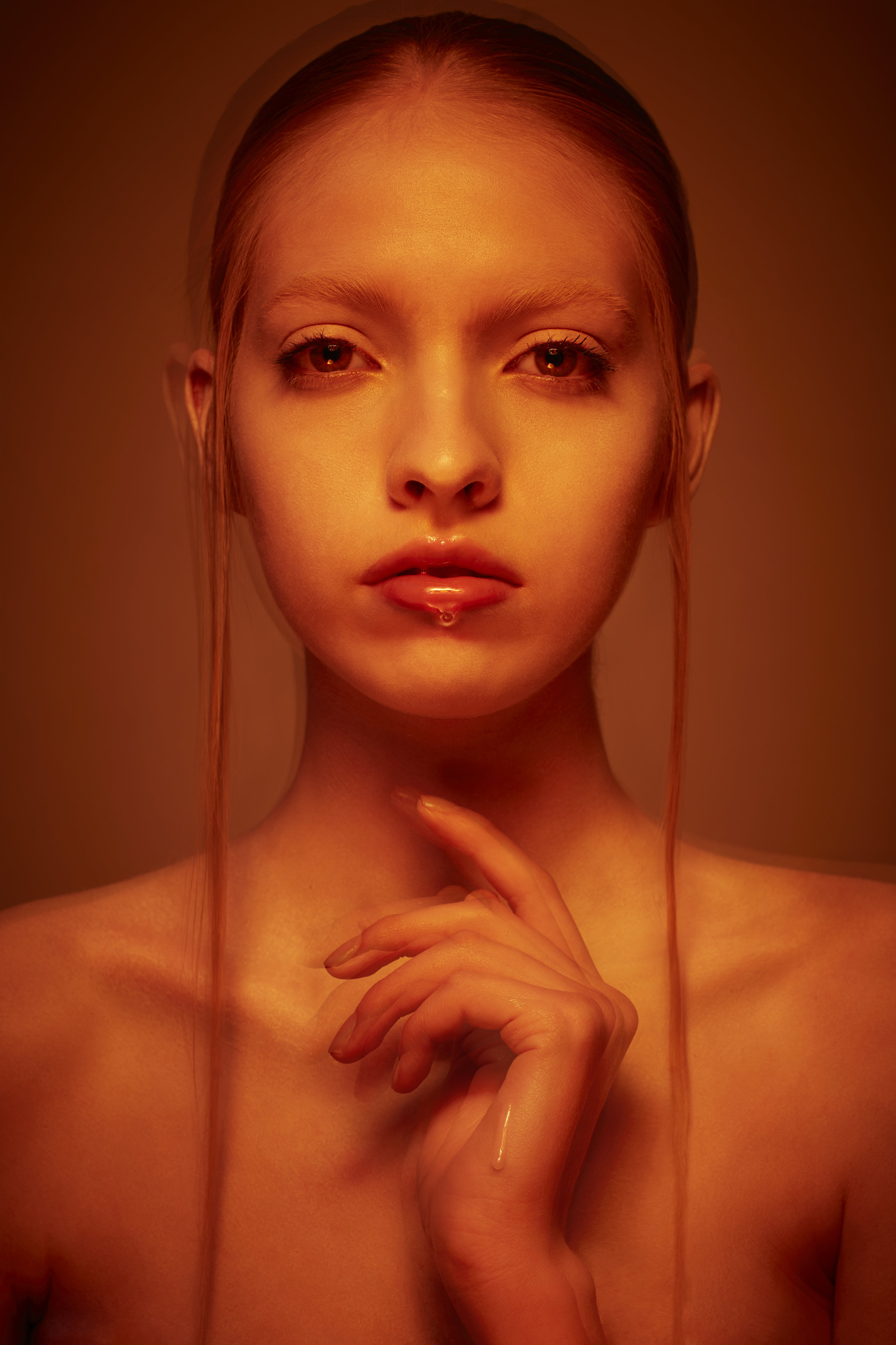 Model: Ale Velasco  Make Up Artist: Caitlin Wooters  Hair Stylist: Katya Zemtsova