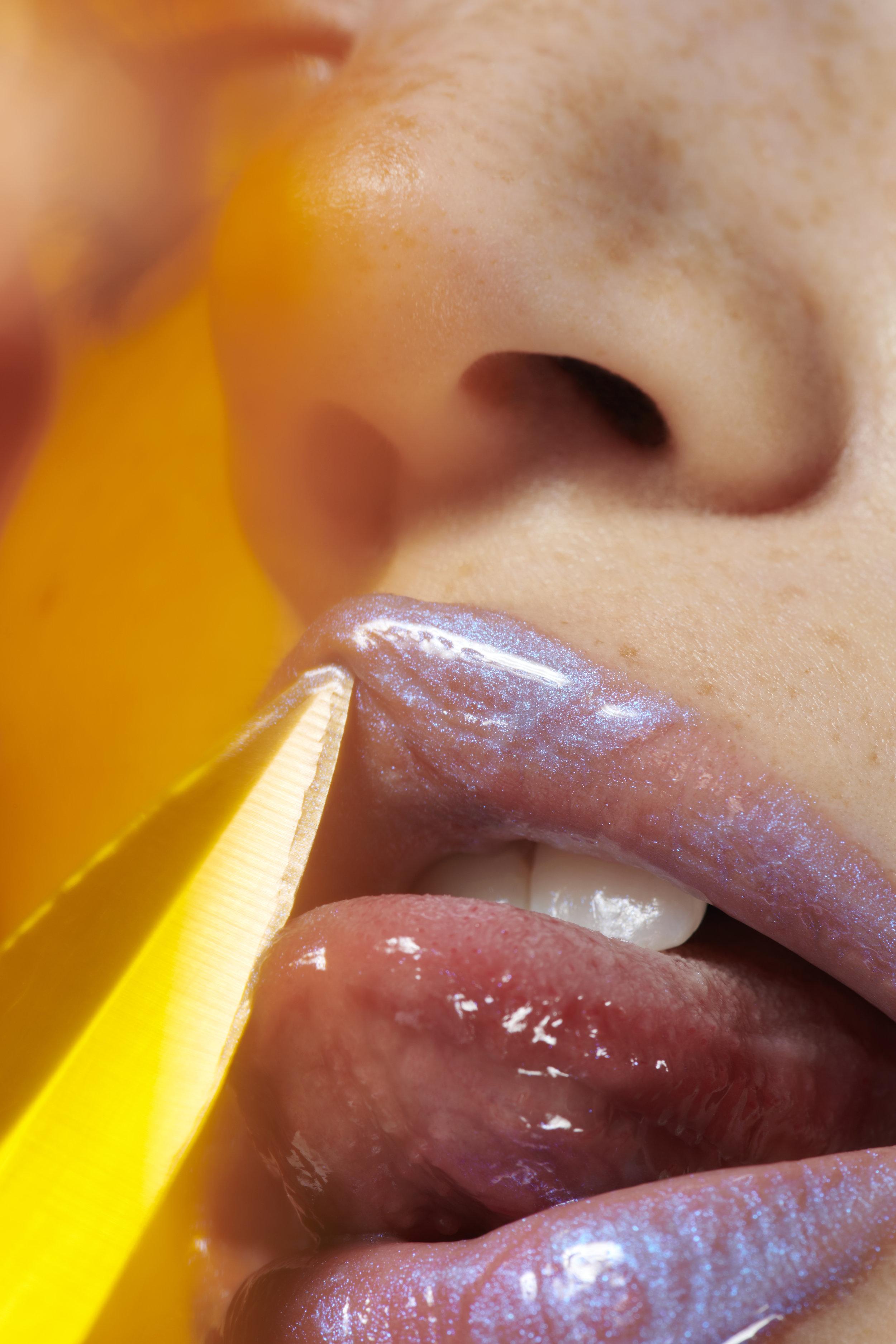 Model: Johanna Defant  Make Up Artist: Caitlin Wooters  Manicurist: Frances Liang