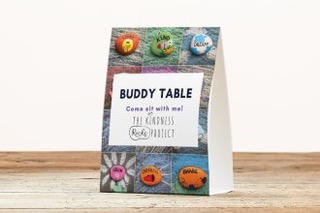 Buddy Table Sign table topper