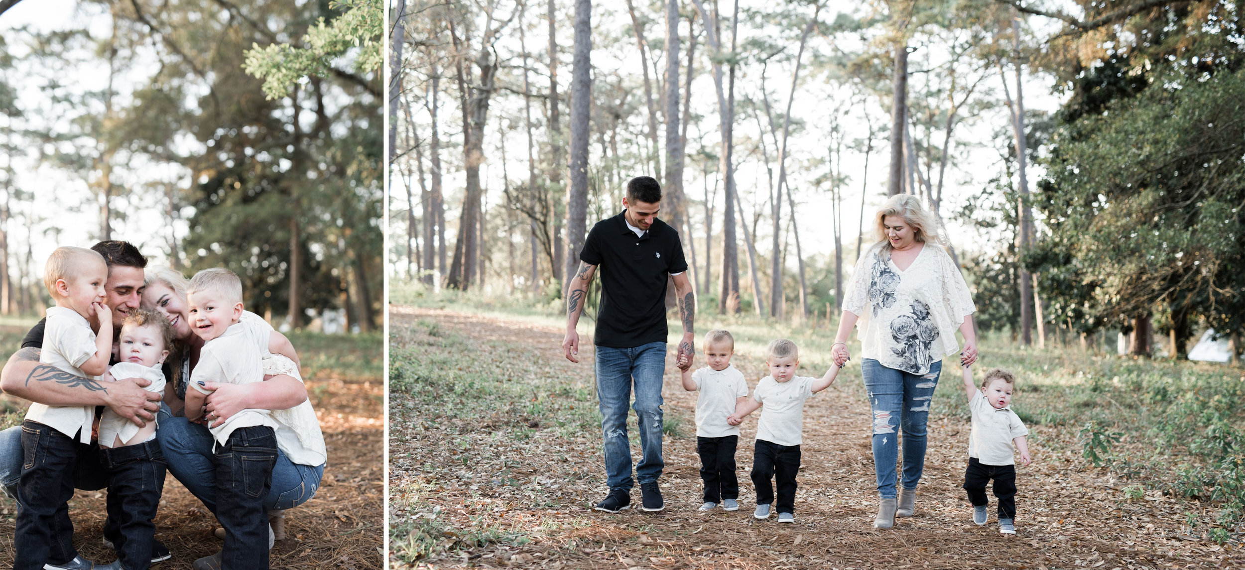 Downtown Fairhope Family Photoshoot by Kristen Grubb Photography