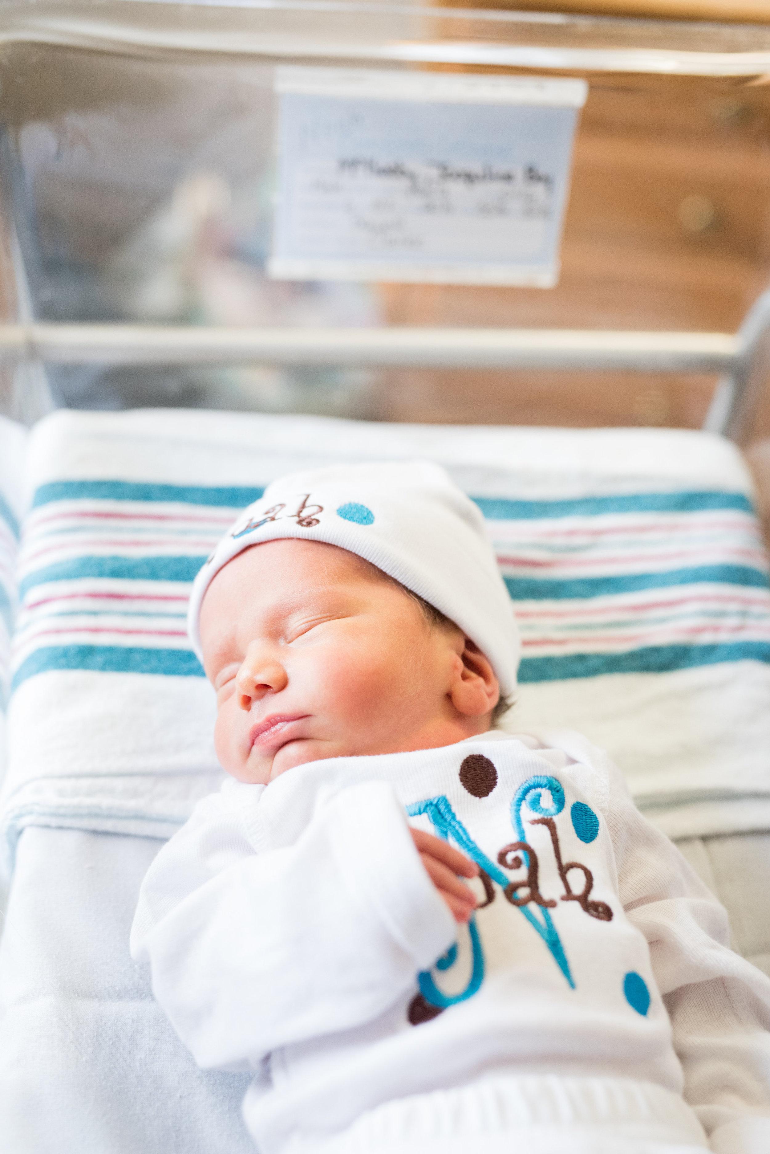 Providence Hospital Newborn Photoshoot
