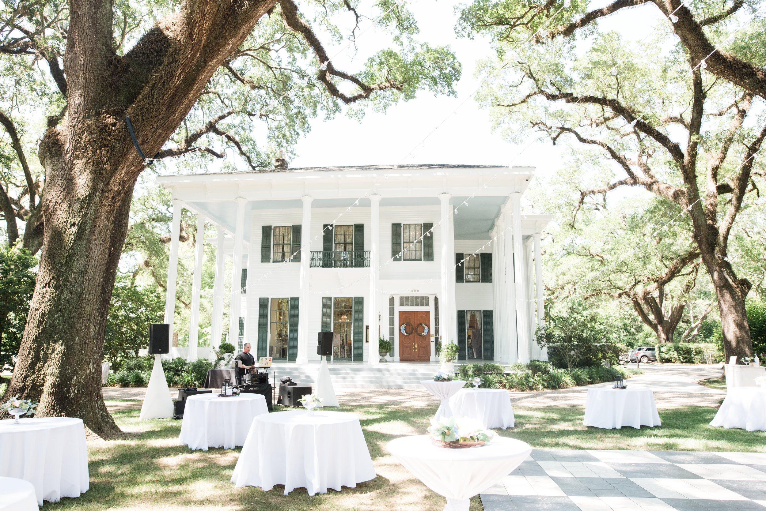 Alyssa and Heath Wedding Venue - the Bragg Mitchell Mansion in Mobile, Alabama on May  25th, 2019
